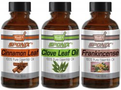 Top Essential Oil Gift Set - Best 3 Aromatherapy Oil - Cinnamon, Clove, Frank - Therapeutic Grade and Premium Quality - 1 oz