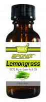 Best Lemongrass Essential Oil - Top Aromatherapy Oil - 100% Pure - Therapeutic Grade and Premium Quality - 30mL by Sponix