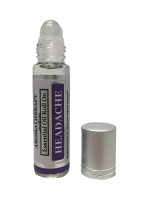 Best Headache Body Roll On - Essential Oil Infused Aromatherapy Roller Oils - 10 mL by Sponix