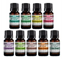 Sponix Top 9 Essential Oils - (Including Clove Leaf)