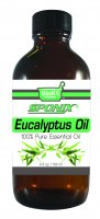 Best Eucalyptus Essential Oil - Top Aromatherapy Oil - 100% Pure - Therapeutic Grade and Premium Quality - 120 mL by Sponix