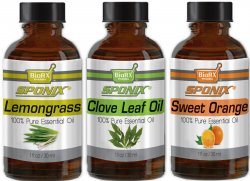 Top Essential Oil Gift Set - Best 3 Aromatherapy Oil - Clove, Lemongrass, Orange - Therapeutic Grade and Premium Quality - 1 oz