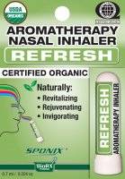 Nasal Inhaler Refresh Aromatherapy 0.7 ml by Sponix