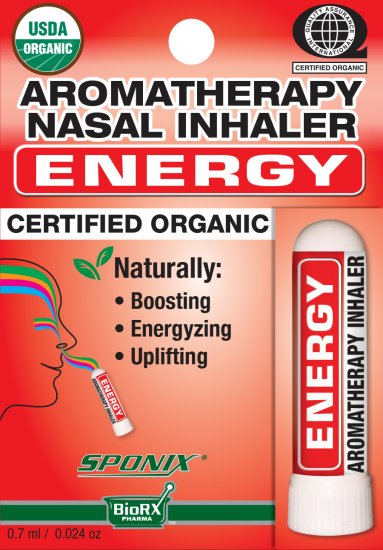 Sponix Aromatheraphy Nasal Inhaler - Energy - Click Image to Close