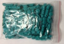 Twist Lancets (30 Gauge, Box Color: Blue) 100 Lancets per Box. NDC # 08496301001