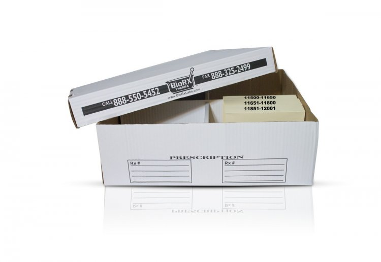 Prescription Storage Box - Click Image to Close