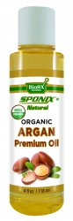 Best Argan Oil - Top 100% Pure Argan Oil for Skincare and Haircare - Premium Grade USDA Organic - 4 oz by Sponix