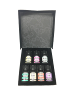 Top Fragrance Oil Gift Set - Best 7 Scented Perfume Oil - Cotton Candy, Freesia, Cupcake, Rose, Violet, Vanilla & Strawberry