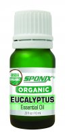 Best Organic Eucalyptus Essential Oil - Top Aromatherapy Oil - Therapeutic Grade and Premium Quality - 10 mL by Sponix