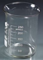 Glass Beaker 250ml (Qty 12)