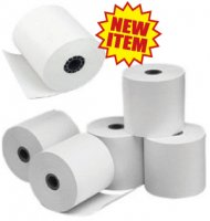 "Thermal Cash Register Rolls, 3.125"" x 220 feet (Qty. 50 per Case)"