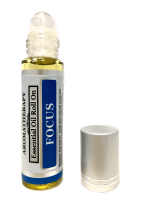 Best Focus Body Roll On - Essential Oil Infused Aromatherapy Roller Oils - 10 mL by Sponix