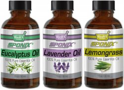 Top Essential Oil Gift Set - Best 3 Aromatherapy Oil - Lemongrass, Lavender, Eucalyptus 1 oz each
