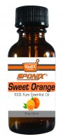 Best Sweet Orange Essential Oil - Top Aromatherapy Oil - 100% Pure - Therapeutic Grade and Premium Quality - 30mL by Sponix