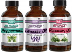 Top Essential Oil Gift Set - Best 3 Aromatherapy Oil - Pepper, Lavendr, Rosemary - Therapeutic Grade and Premium Quality - 1 oz