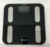 Harlyn BSF5000 Bluetooth Smart Body Weight Bathroom Scale - Body Fat & Body Hydration Calculator - Step-on Technology