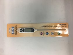 Harlyn FT400 Instant-Read Digital Meat/Food Thermometer - Digital LCD - Kitchen, Indoor, Outdoor Cooking - Grill and BBQ