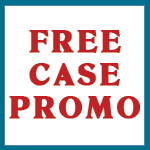 FREE CASE Pharmacy Vials Reversible BLUE (Handling Fee Applies For Each Free Case Only)