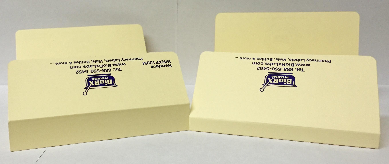 rx folder manila with 1 inch spine 100 per case wrxf200m