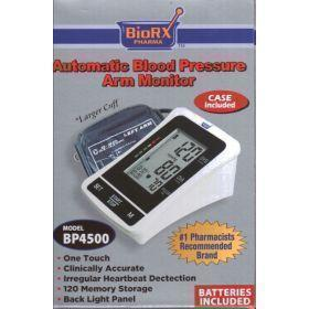 Arm-type Fully Digital Automatic Blood Pressure Monitor (Large Cuff + Backlight Function)