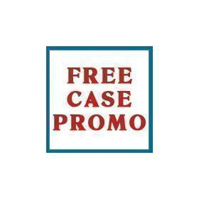 FREE CASE Oval Bottle AMBER