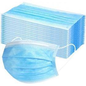 Face Mask Blue Color Qty. 50 pcs High Quality