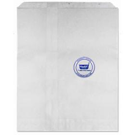 Bags White 8.5 X 11 (Flat/Pinch Bottom) 2000 per Case [Without Print]