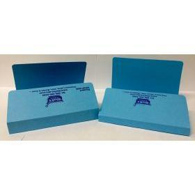 Rx Folder (Blue) with 1-inch Spine 100 per Case