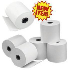 "Thermal Cash Register Rolls, 3.125"" x 220 feet (Qty. 50 per Case) #31822"