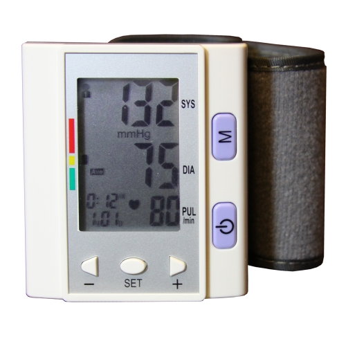Wrist-type Fully Digital Automatic Blood Pressure Monitor - Click Image to Close